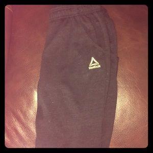 Reebok neutral cotton fleece jogger pants